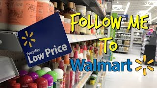 Walmart: Follow Me T๐ Look At Hair Products!