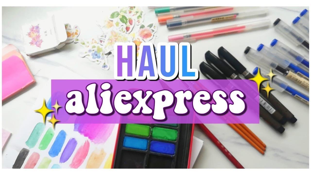 HAUL ALIEXPRESS - Papelería, arte, moda, ropa, etc.DanielaGmr ♥