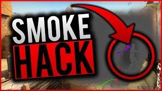 SMOKE HACK W CS GO ?! JAK WIDZIEĆ PRZEZ SMOKE W CS:GO !!!