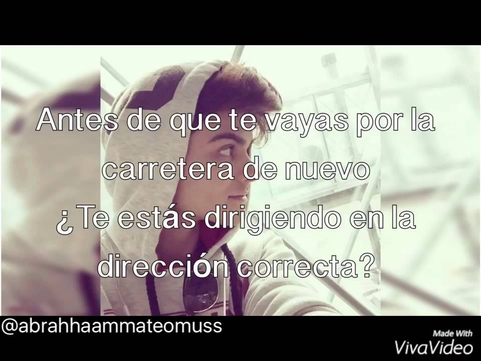 A Place In My Heart Letra En Español Abraham Mateo Youtube