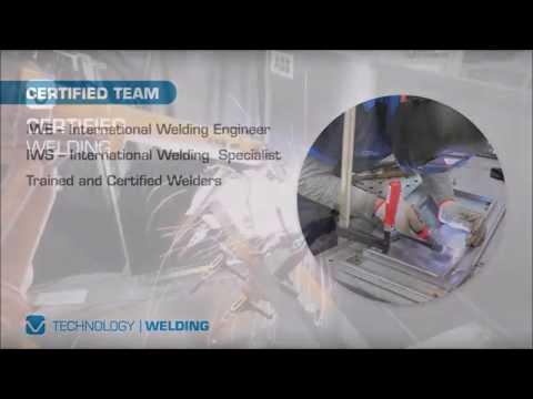 Certified welding at MCG