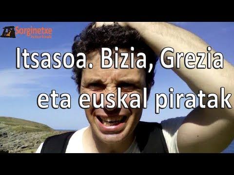 Itsasoa. Bizia, Grezia eta euskal piratak - Fernando Morillo Grande (Sorginetxe istorioak)