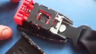 ремонт замка ремня безопасности ВАЗ