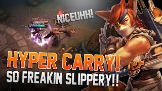 HYPER CARRY! Vainglory 5v5 Gameplay - Taka |CP| Jungle Gameplay