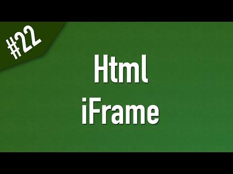 Learn Html In Arabic #22 - IFrame