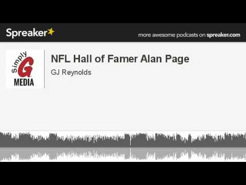 NFL Hall of Famer Alan Page (made with Spreaker)