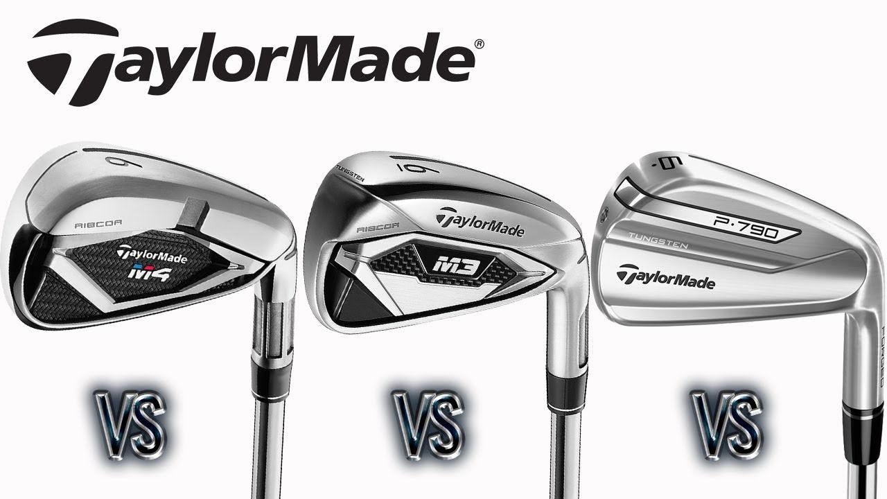 Taylormade M3 vs M4 vs P790 Irons - The Hackers Paradise