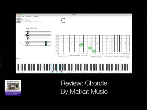 Review Of Chordie By MatKat Music