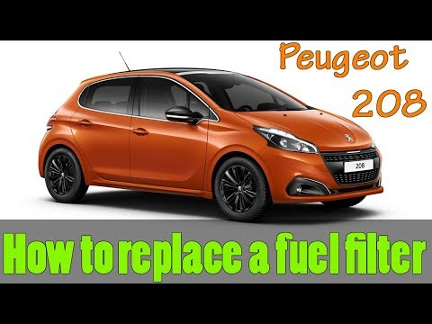 Peugeot 208 Fuel Filter Replacement – How To DIY
