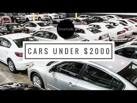 DealerTalk: Cars you get under $2000 at the auction