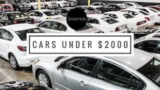 DealerTalk: Cars you get under $2000 at the auction