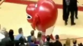 Hilarious NBA Mascot Moments! [HQ]