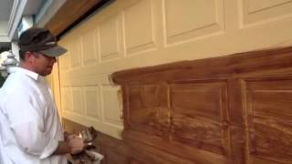 Z Freeman Woodgrain On Garage Door