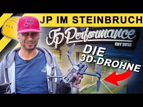 JP Performance | JPs 3D-Drohne | neues Firmengebäude in 3D & der MEGA-Steinbruch