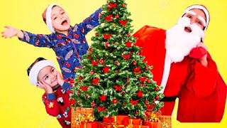 Santa Pretend Play Christmas Gifts Story by Caletha Playtime