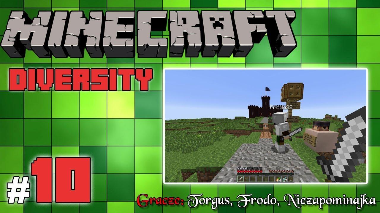 """Minecraft Escape: Diversity z Frodo/Torgus! [10/14] – """"Przygoda w królestwie"""""""