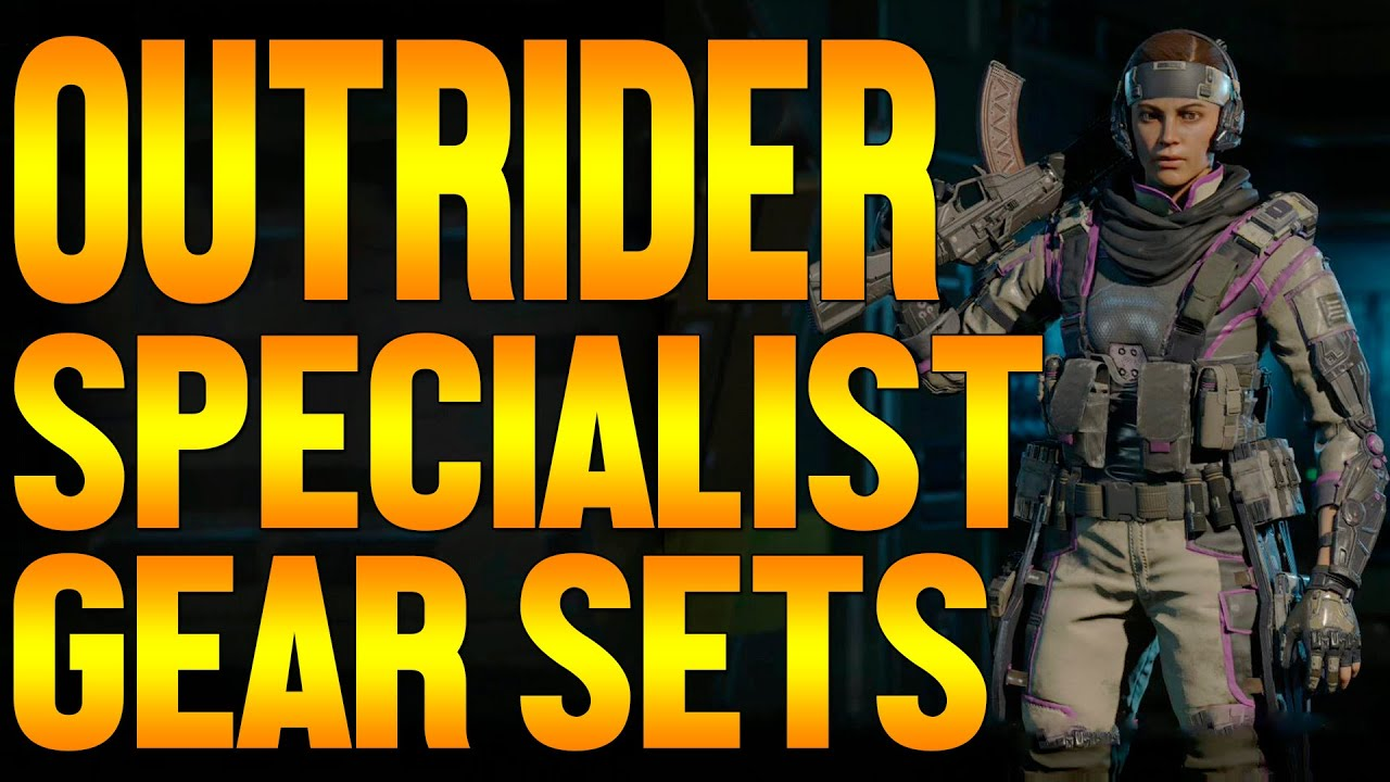 Black Ops 3 OUTRIDER Specialist Personalization Gear Sets