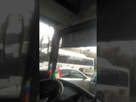 13 летний гасторбайтеров водитель городского автобуса (НА357 18)В РОСТОВЕ НА ДОНУ