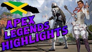 Apex Legends Highlights - Season 5   Jamaican Player (PS4)