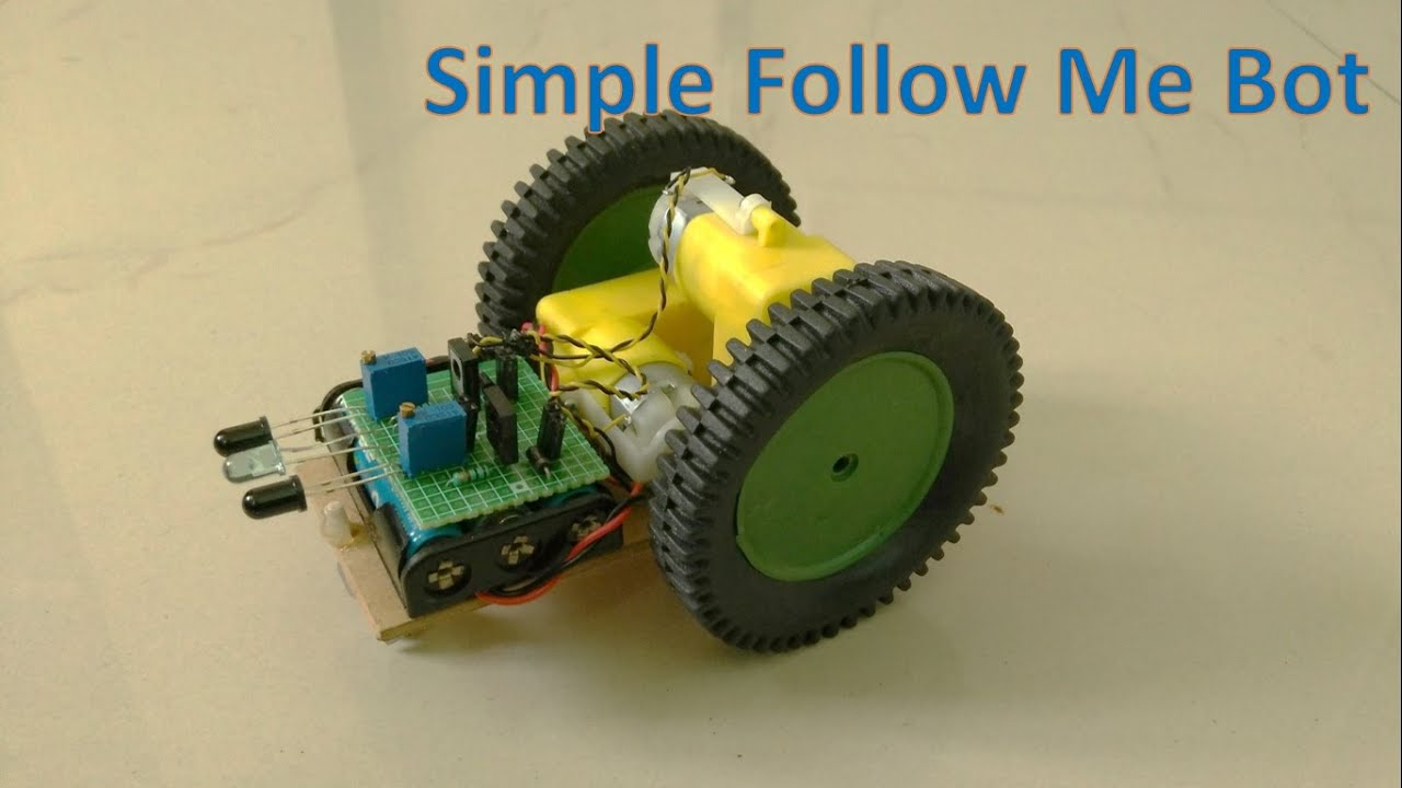 How to make a robot which can follow an object youtube how to make a robot which can follow an object pooptronica Gallery