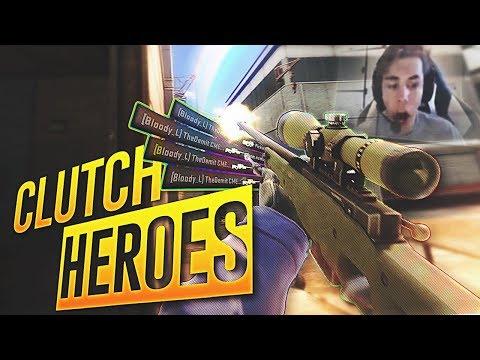 CS:GO - Clutch HEROES! #39