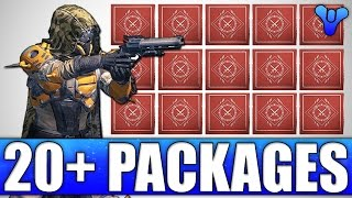 Opening 20 Plus Weekly Crucible Packages! - Destiny Age Of Triumph Loot Reward Opening!