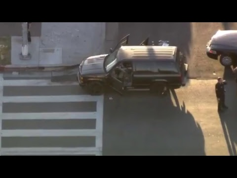 LAPD Chases Stolen Black Tahoe - October 4th 2017