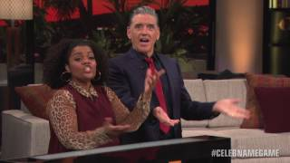Yvette Nicole Brown NOT having any of Craig's nonsense | Celebrity Name Game
