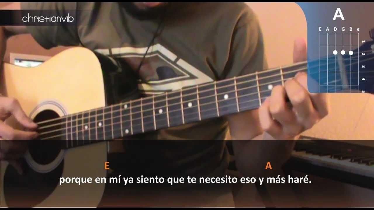 """Cómo tocar """"Eso y más"""" de Joan Sebastian en Guitarra (HD"""