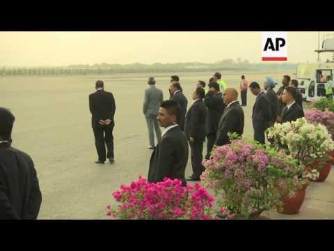 Malaysia's Razak arrives in India on visit