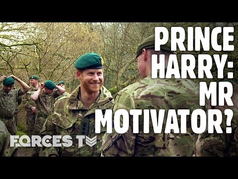 Royal Marines Earn Green Berets In Front Of Prince Harry | Forces TV