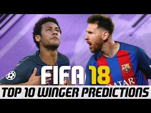 FIFA 18 Top 10 Best Wingers Player Ratings Predictions - Neymar Signing for PSG