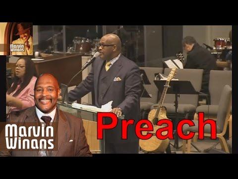 Songs Album Of Bishop Pastor Marvin Winans 2016 - Sings Before He Preaches In Phoenix