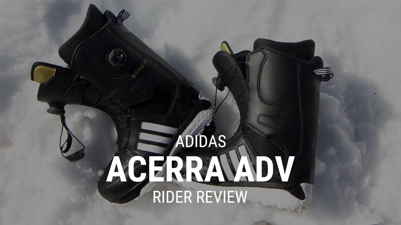 new styles 21051 cb50a Adidas Acerra ADV 2019 Snowboard Boot Rider Review - Tactics.com
