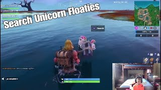 Search Unicorn Floaties At Swimming Holes - Fortnite 14 Days of Summer Day 6 - Free V-Bucks Info