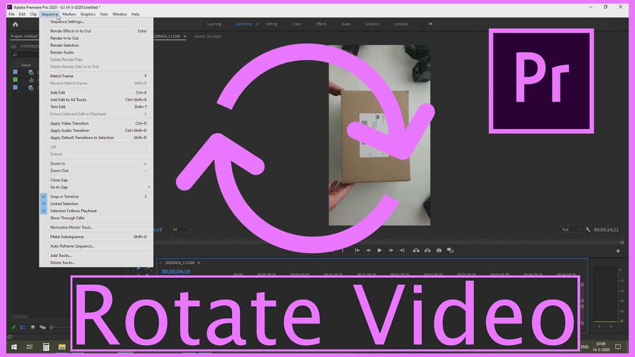 Download How to - Rotate Video in Adobe Premiere Pro