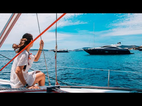 Sailing With Superyachts And Charter Boats In The Bay Of Palma De Mallorca.  #42