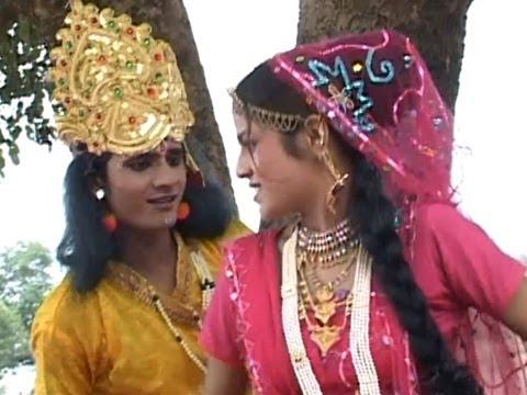 Krishna Bhajan - Jhula Radha Ko | Jhula De Jhula Jhule Re Bagan Mein | Ramdhan Gujjar