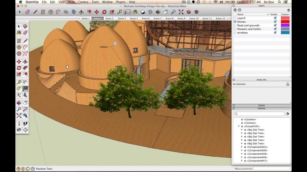 Sketchup Plants, Trees, and Shrubs Archive