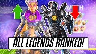 ALL LEGENDS RANKED IN APEX SEASON 5 (Season 5 Legend Tier List)