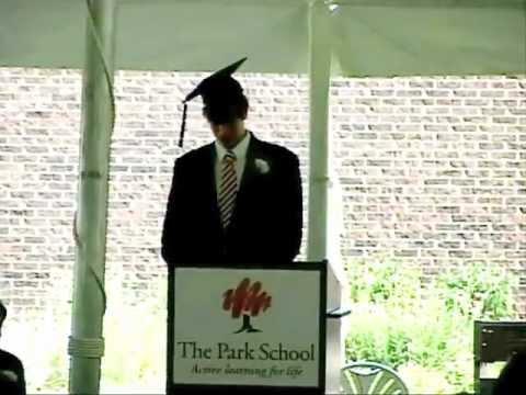 The Park School of Buffalo- 2012 Commencement- Jordan Heussler.mov