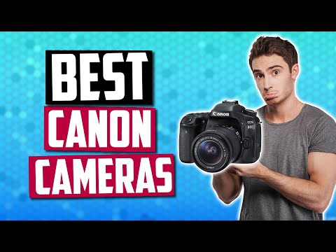 Best Canon Cameras [July 2019] - 5 Great Canon DSLR & Mirrorless Cameras