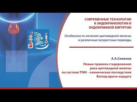 Семенов А.А. - Новые правила стадирования рака ЩЖ по системе TNM – клинические последствия