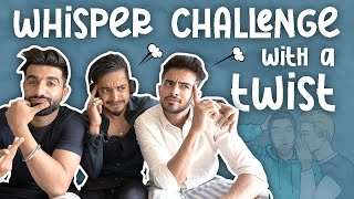 WHISPER CHALLENGE WITH A TWIST 🎧 | ARSHFAM