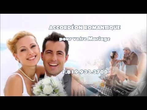 Accordéon pour mariage, 5 à 7, restaurants et après-midi dansant