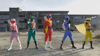 Kaizoku Sentai Gokaiger | Transformación en el primer Super Sentai Goranger