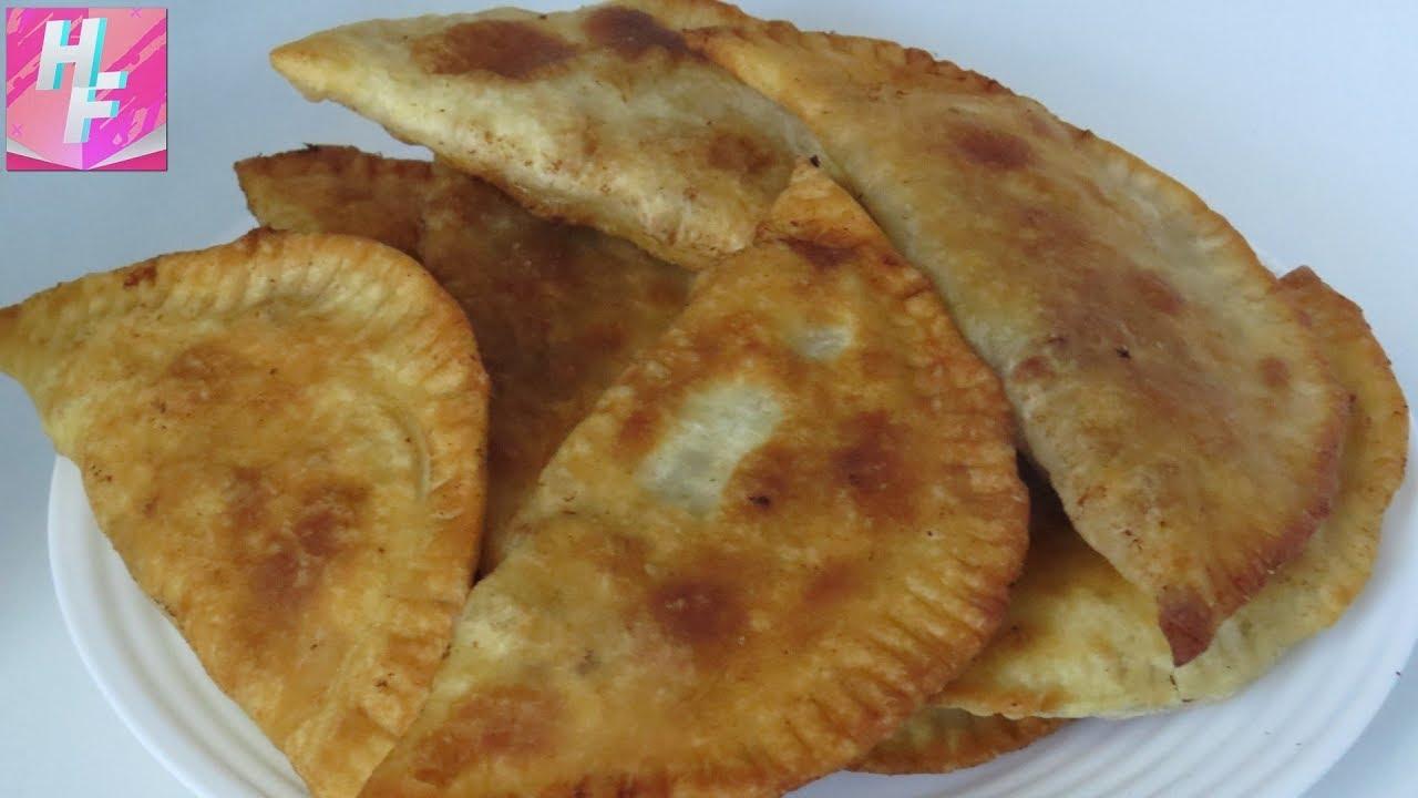 Чебуреки рецепт с фото на кипятке