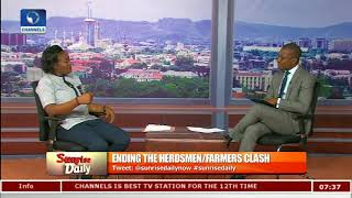 Benue Killings: Youths Needed To Express Their Grievances-- NUBSS President Pt.2 |Sunrise Daily|