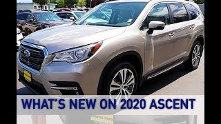 What's New For The 2020 Ascent