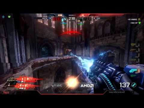 Noctis vs Fazz Ro16 Day2 Quake Con 2017 (1$ Million Tournament Quake Champions)